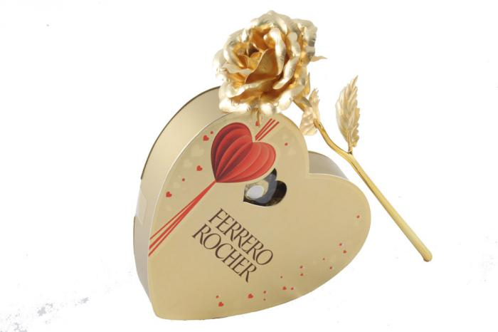 Perfect Gold Gift for Love 2