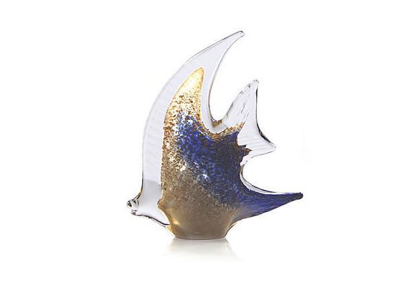 Pesce Angelo Aur şi Argint by Marcolin (Handmade crystal) 30 cm Made in Italy 1