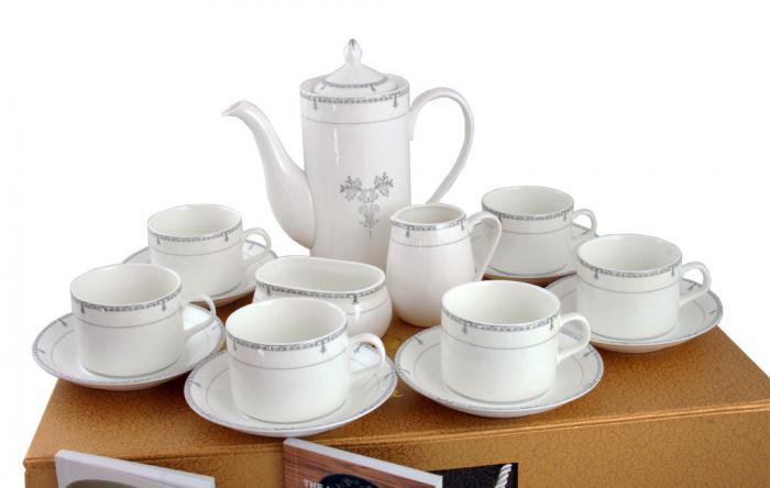Porcelain Tea Set & Little Books of Tips 2