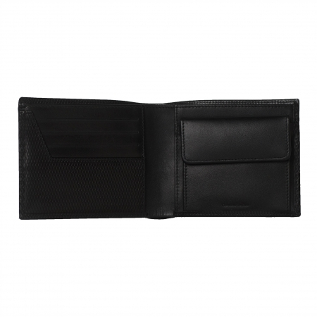 Portofel Christian Lacroix piele naturala si butoni Fume Desk Elegance by Borealy 4