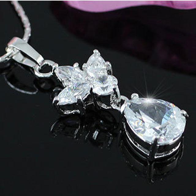 Colier Borealy Diamonds Princess White 3