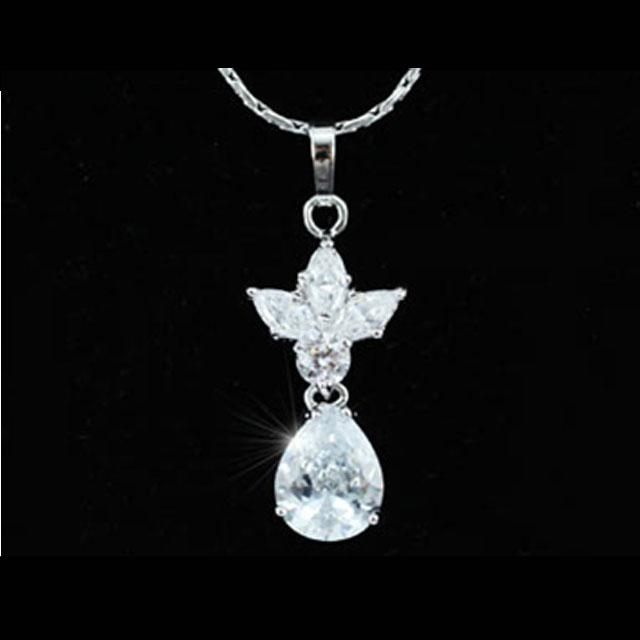 Colier Borealy Diamonds Princess White-big
