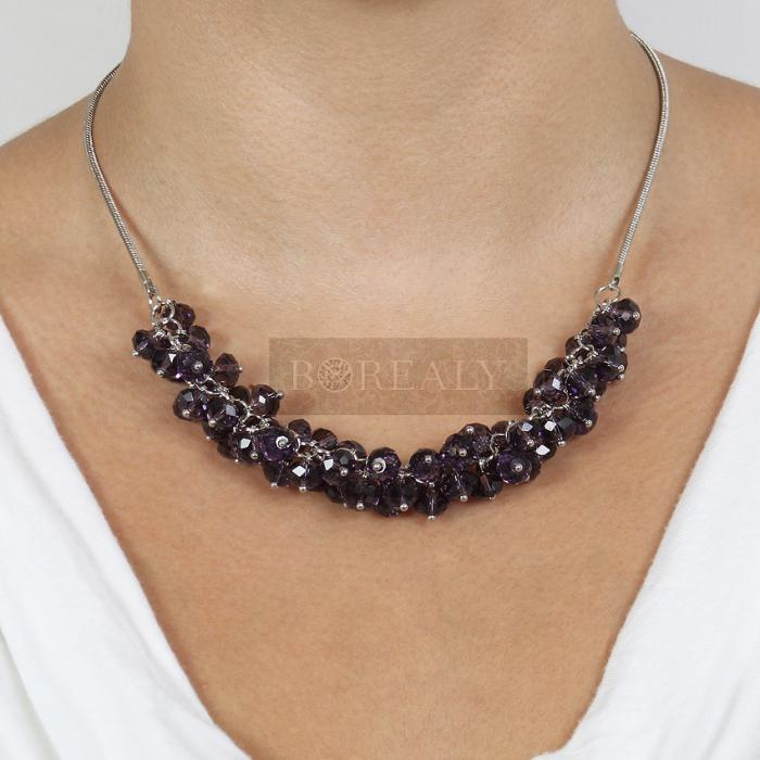 Colier Bead Purple 2