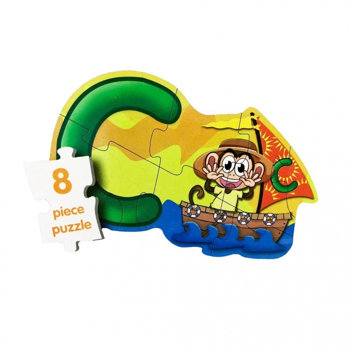 Puzzle 4in1 Model ABC - jucarie creativ educativa 4