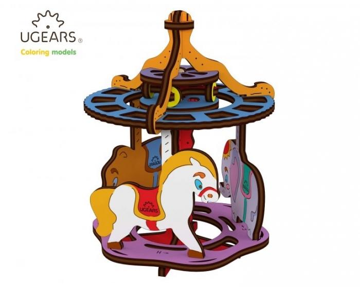Puzzle din lemn Carousel [0]