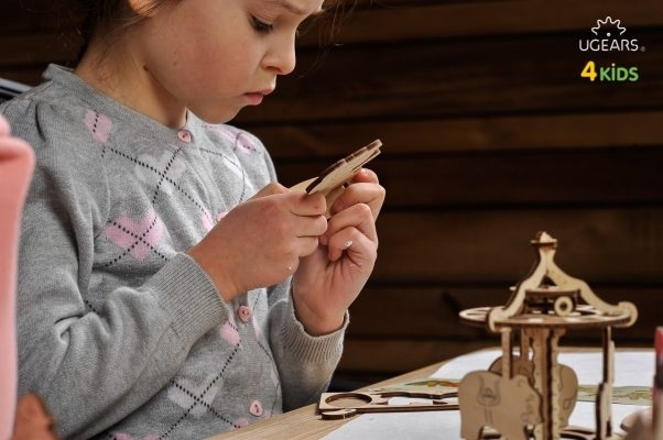 Puzzle din lemn Carousel 2