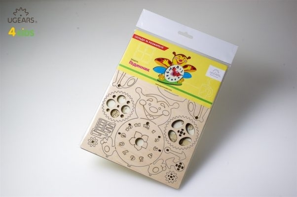 Puzzle din lemn Ceas 3