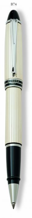 Rollerball Ipsilon White & Silver 925 by Aurora-big