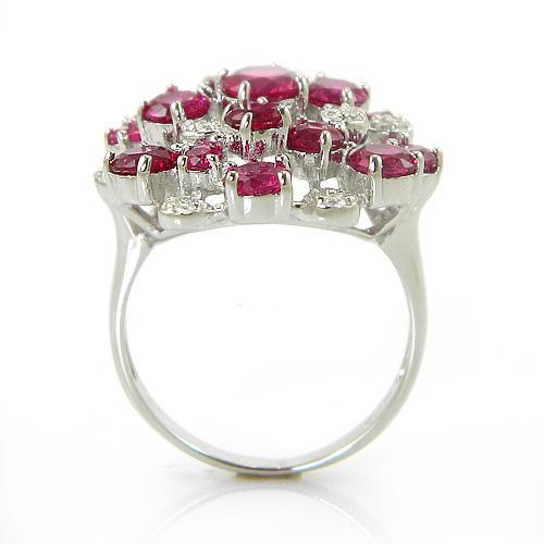 Rubin Splendor Inel - pietre preţioase 1