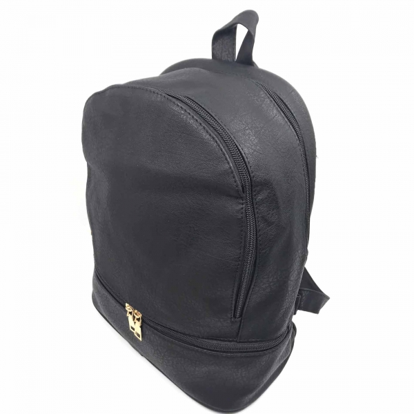 Rucsac dama Borealy, All Day Long, din piele ecologica-big