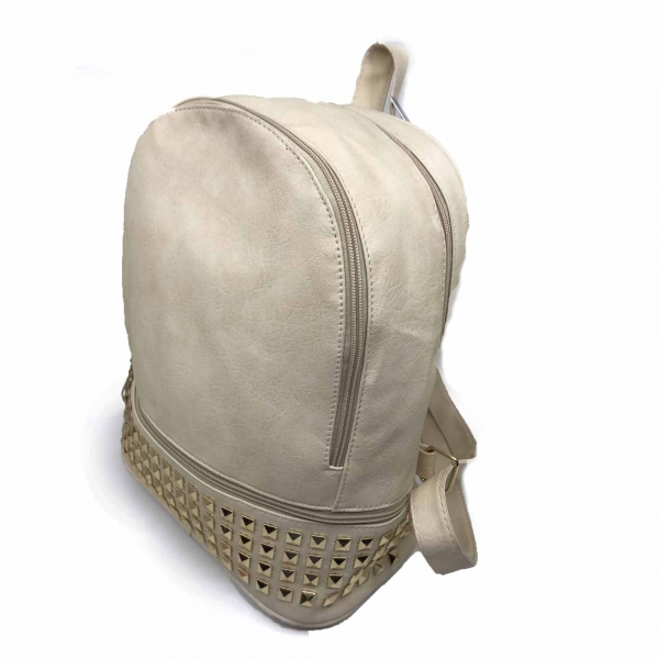 Rucsac dama Borealy, Charming Neutral, din piele ecologica 2