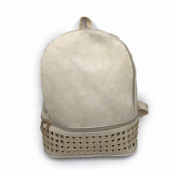 Rucsac dama Borealy, Charming Neutral, din piele ecologica 0