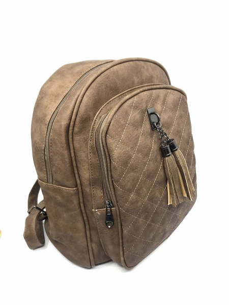 Rucsac dama Borealy, Go Hands-Free, din piele ecologica 1