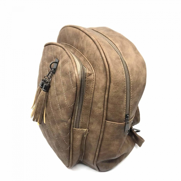 Rucsac dama Borealy, Go Hands-Free, din piele ecologica 2