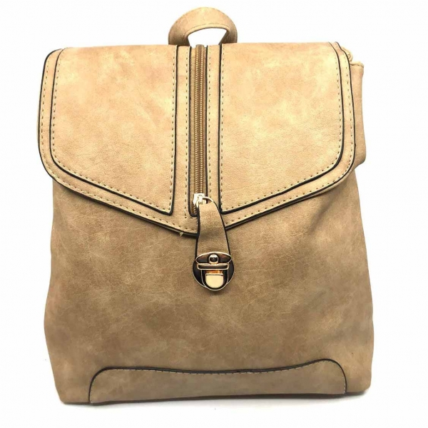 Rucsac dama Borealy, Minimal Chic, din piele ecologica 0