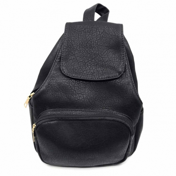 Rucsac dama Borealy, Nomad Chic, din piele ecologica 0