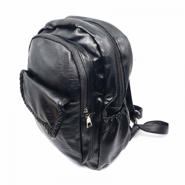 Rucsac dama Borealy, Ready For Action, din piele ecologica 2