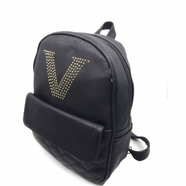 Rucsac dama Borealy, Victory Style, din piele ecologica 2