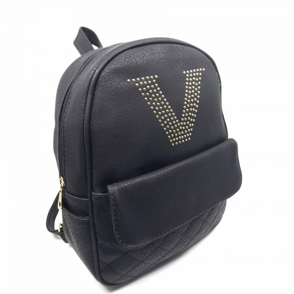 Rucsac dama Borealy, Victory Style, din piele ecologica 1