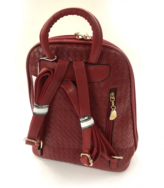 Rucsac Piele Coco Mademoiselle Rouge-big