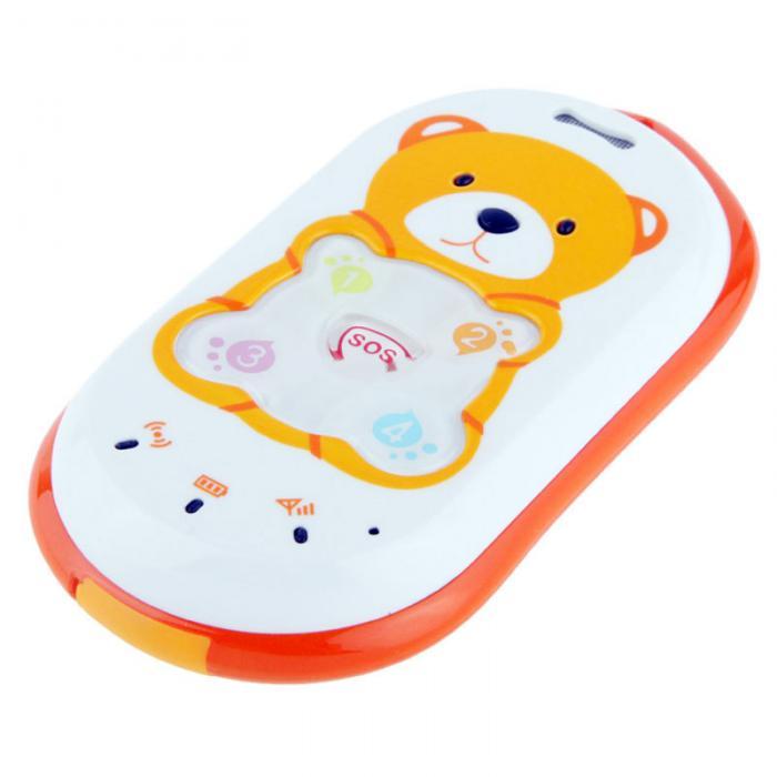 Borealy Teddy Bear - Localizator Copii prin GPS + Telefon Mobil-big