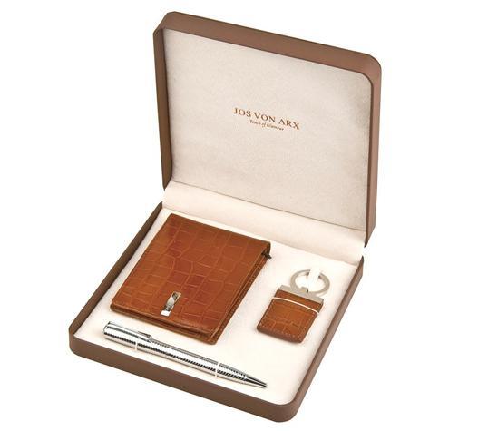 Brown Leather Set by Jos von Arx 0