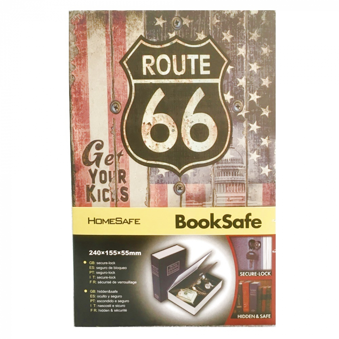 Seif in forma de carte Route 66 2