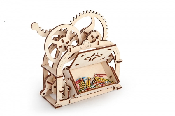 Caseta pentru accesorii birou Puzzle 3D Mecanic 0