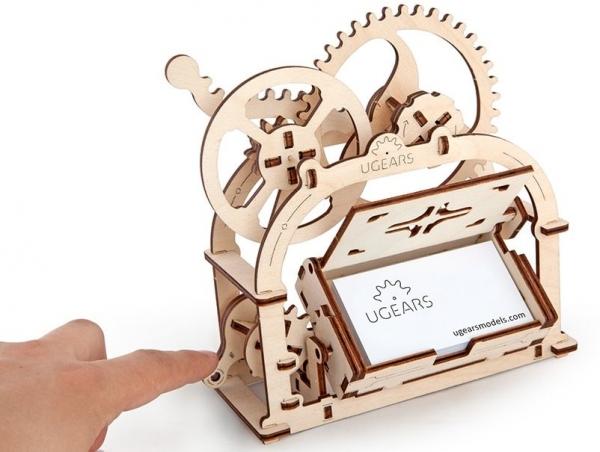 Caseta pentru accesorii birou Puzzle 3D Mecanic 2