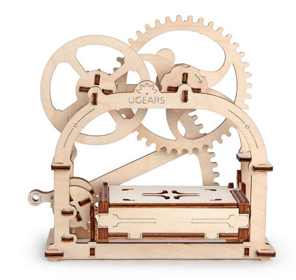Caseta pentru accesorii birou Puzzle 3D Mecanic 1