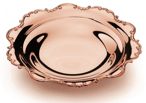 Bol placat cu aur roz by Chinelli, made in Italy 0