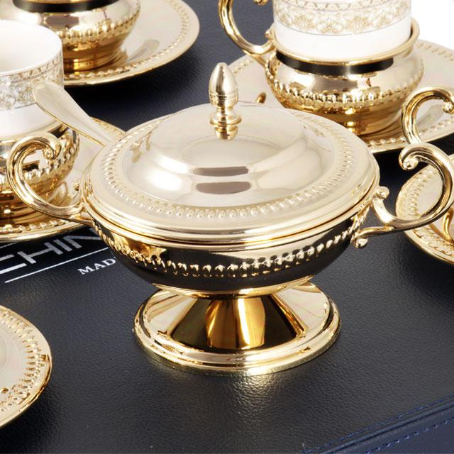 Serviciu de Cafea 6 Persoane Gold Plated by Chinelli - made in Italy [4]