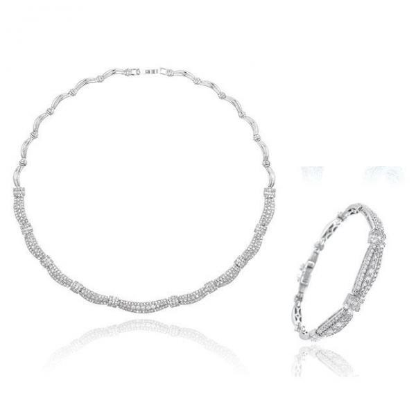 Set Borealy Diamonds Colier si Bratara Ricci 0