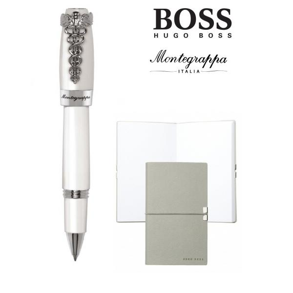 Set Caduceus Rollerball Montegrappa si Note Pad Hugo Boss-big