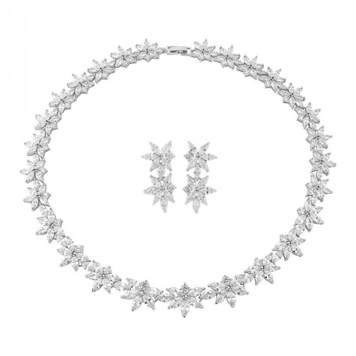 Set Cercei şi Colier Luxury Wedding Borealy-big