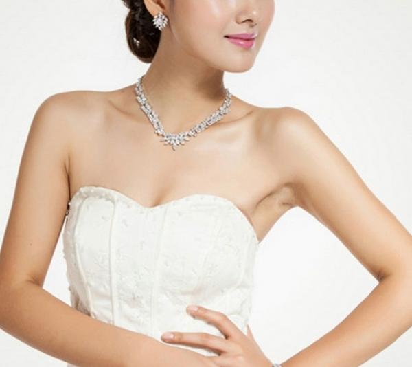 Set Cercei şi Colier Luxury Bridal Borealy 7