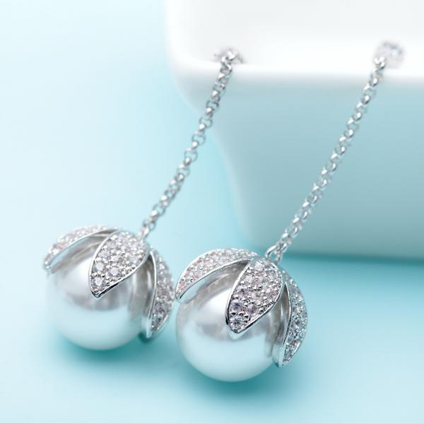 Set Cercei si Colier Statement Luxury Silver 1