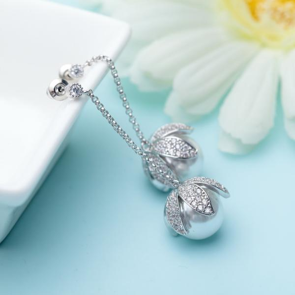 Set Cercei si Colier Statement Luxury Silver 5
