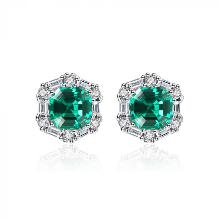 Set Colier şi Cercei Regina Emerald 3