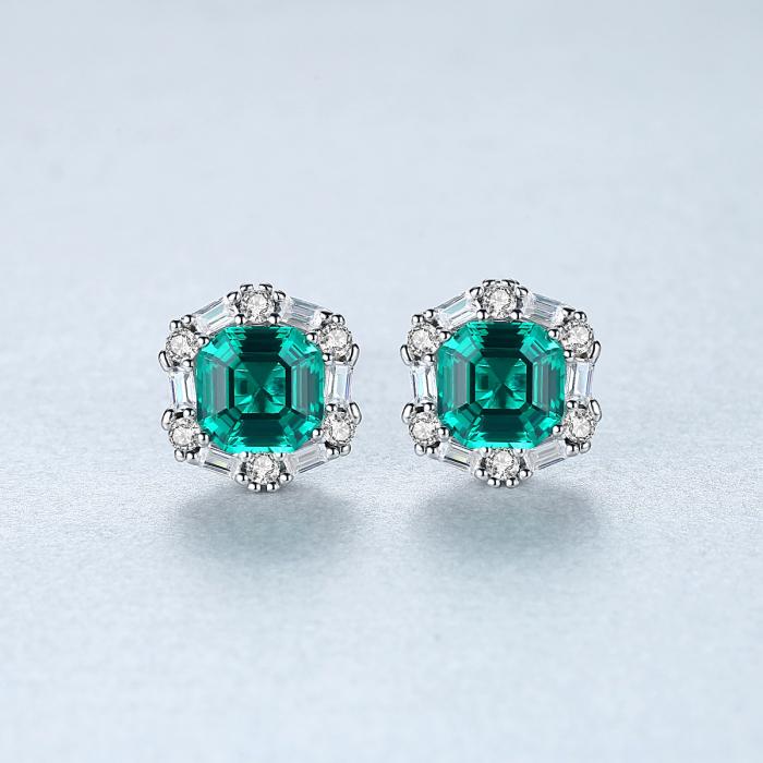 Set Colier şi Cercei Regina Emerald 5