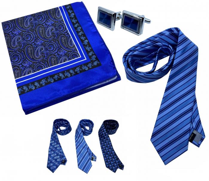 Set Cravata, Butoni Camasa si Batista Sacou 0