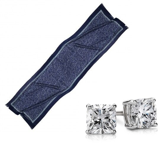 Set Esarfa Giverny Blue Cacharel & Cercei Borealy One Diamond Square Princess [5]