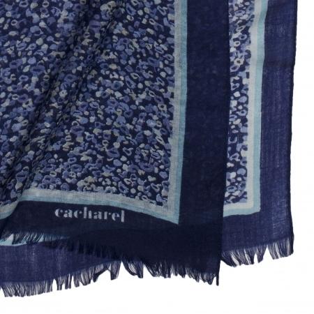 Set Esarfa Giverny Blue Cacharel & Cercei Borealy One Diamond Square Princess [1]