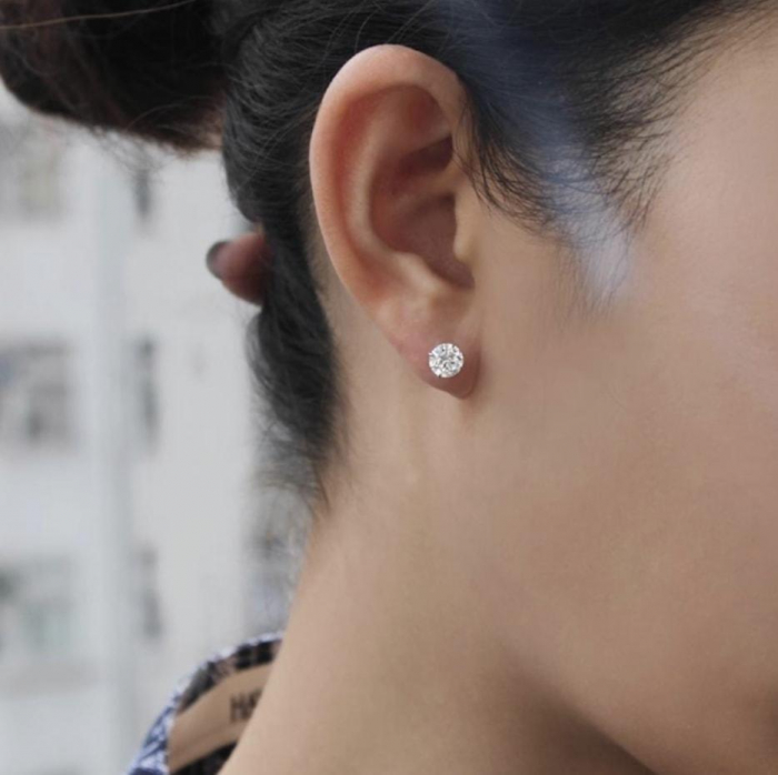 Cadou Valentine's Day Geanta Black Glam si Cercei Diamond One [2]