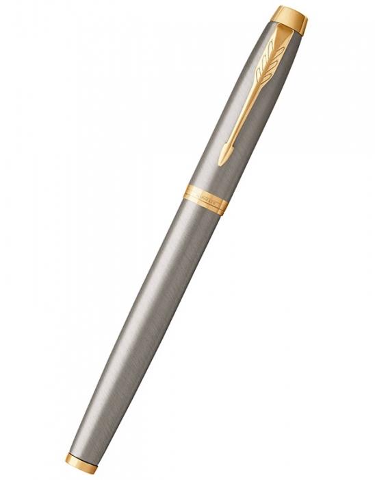 Caseta cadou Pix & Roller Parker Accesorii Aur 23 kt. Brushed Metal si Note Pad Hugo Boss - personalizabil 7