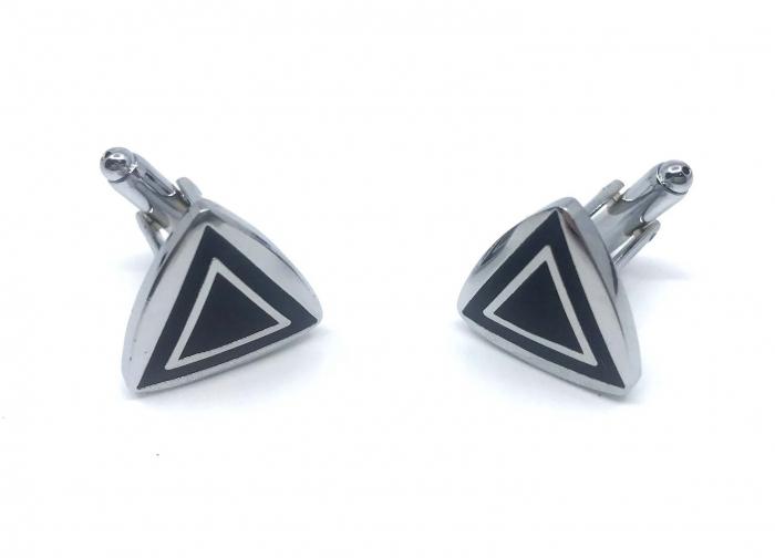 Set Roller Cerruti 1881 si Butoni Dark Triangle [3]