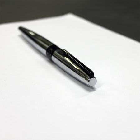 Set  Frank Chrome (ballpoint pen & rollerball pen) Cerruti 1881 & Butoni Elegant Round Silver 6