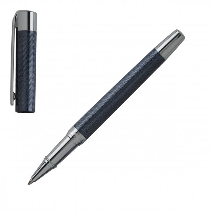 Set Business Ballpoint & Rollerball pen Cerruti 1881 & Butoni Elegant Round Silver 10