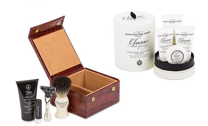 Travel Grooming Luxury Box by Taylor of Old Bond Street 0