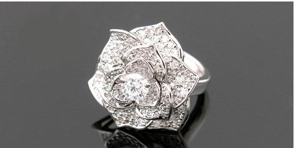 Luxury Rosa Set Cercei Borealy Colier Si Inel 5